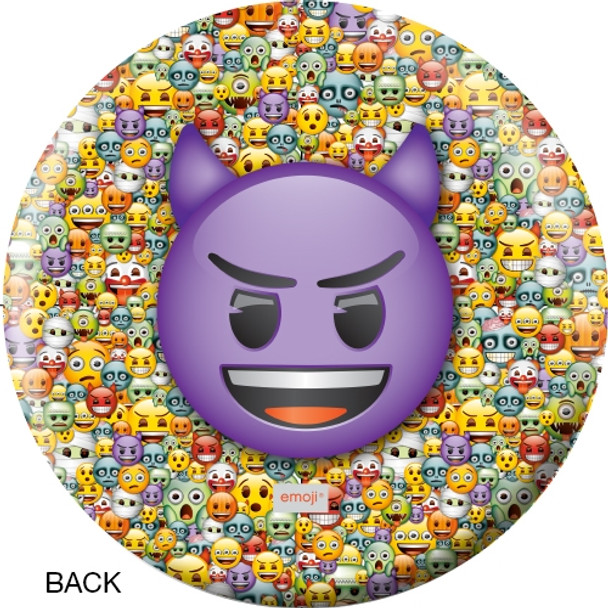 OTBB Emoji Steamed-Devil Bowling Ball back