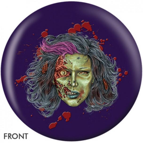 OTBB Samantha Zombie Bowling Ball front