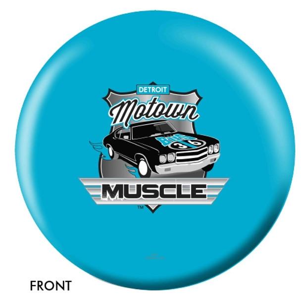 OTBB Detroit Motown Muscle Bowling Ball front