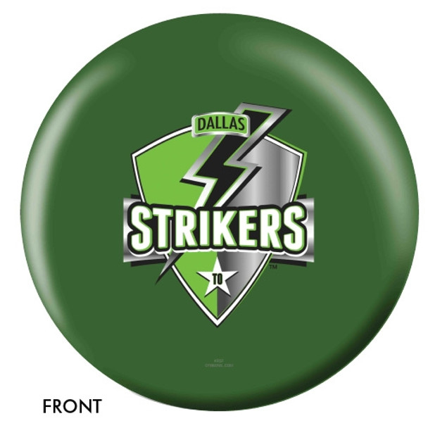 OTBB Dallas Strikers Bowling Ball front