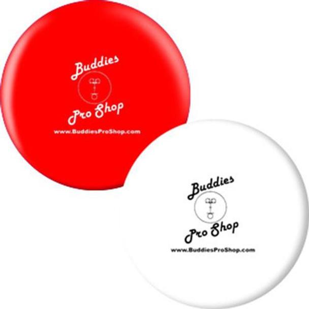 OTBB BuddiesProShop.com Bowling Ball Red/White