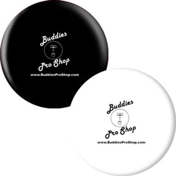 OTBB BuddiesProShop.com Bowling Ball Black/White