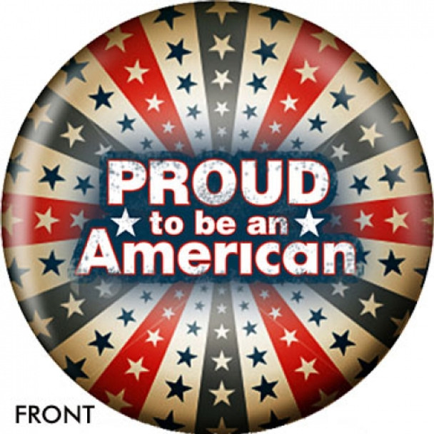 OTBB Proud to be American Bowling Ball front