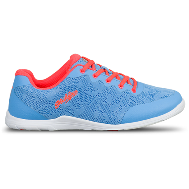 KR Strikeforce Womens Lace Bowling Shoes Sky/Coral side