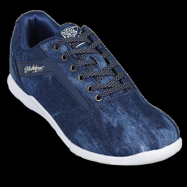 KR Strikeforce Womens Nova Lite Bowling Shoes Denim/Sparkle top