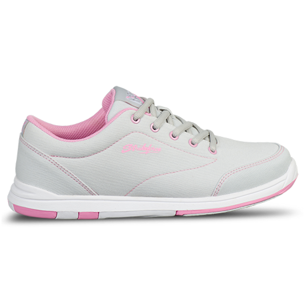 KR Strikeforce Womens Chill Bowling Shoes Light Grey/Pink side