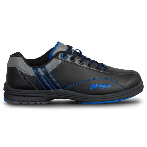 KR Strikeforce Mens Raptor Bowling Shoes Black/Royal side