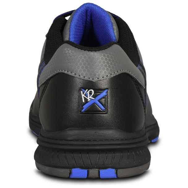 KR Strikeforce Mens Raptor Bowling Shoes Black/Royal back