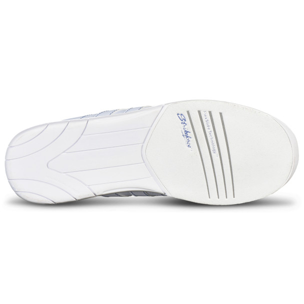 KR Strikeforce Womens O.P.P. Bowling Shoes White/Periwinkle bottom