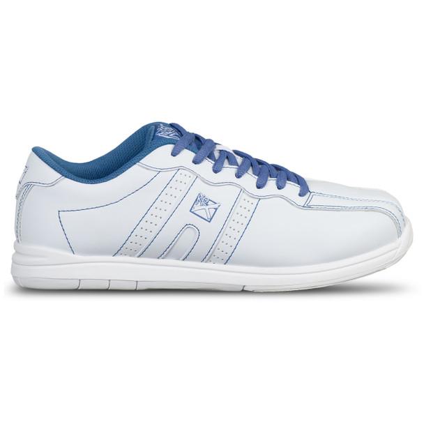 KR Strikeforce Womens O.P.P. Bowling Shoes White/Periwinkle side