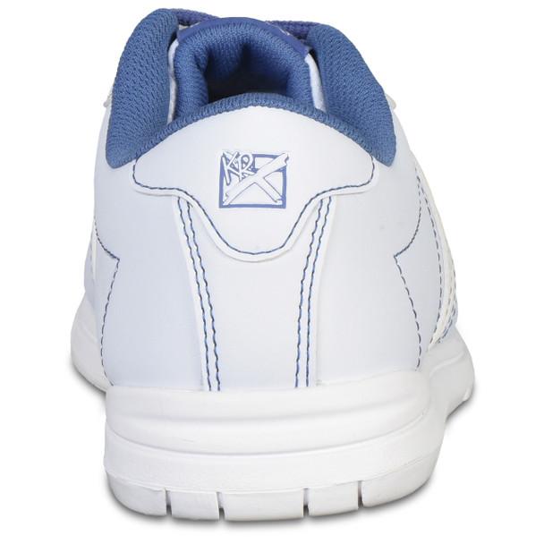 KR Strikeforce Womens O.P.P. Bowling Shoes White/Periwinkle back