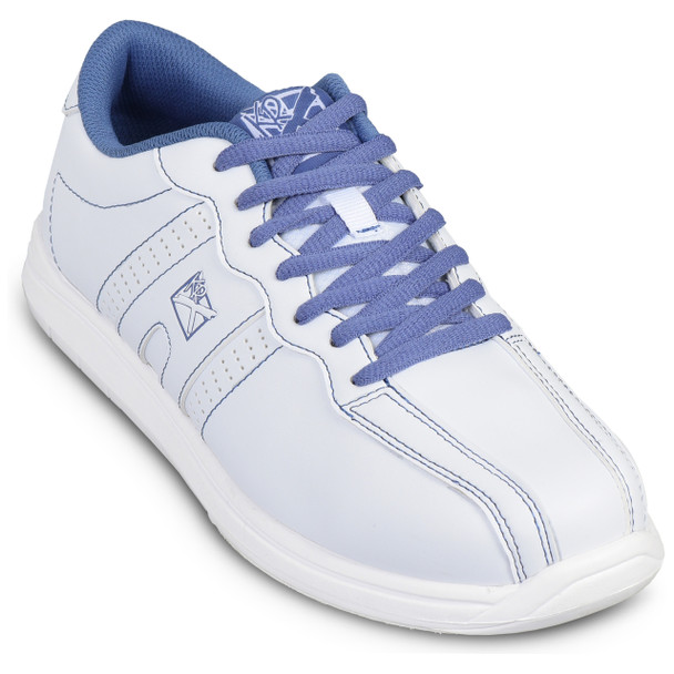 KR Strikeforce Womens O.P.P. Bowling Shoes White/Periwinkle top