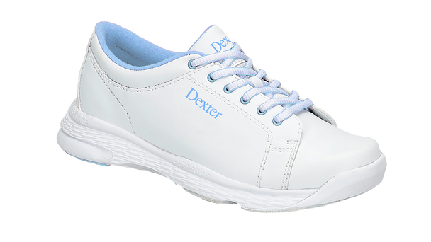 Dexter Raquel V Womens Bowling Shoes White/Light Blue