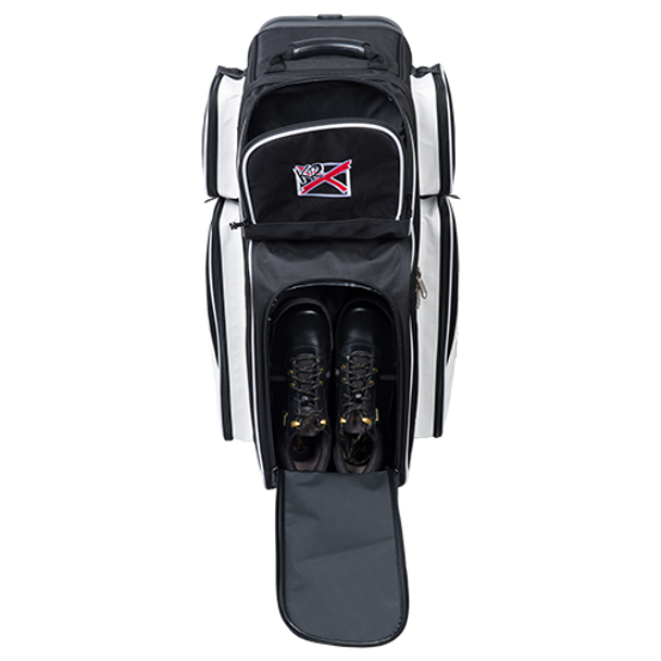 KR Strikeforce Fast Triple Roller Black/White shoe detail