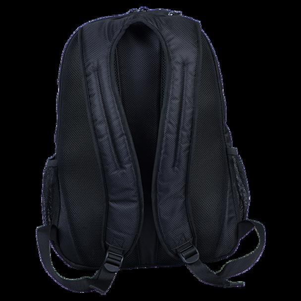 KR Strikeforce Fast Backpack Black/White strap detail