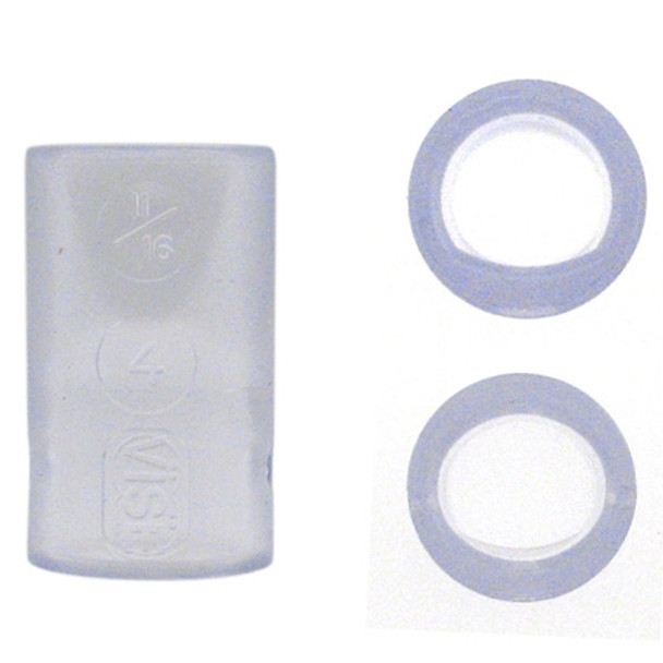 Vise Oval & Power Oval Inserts - Clear