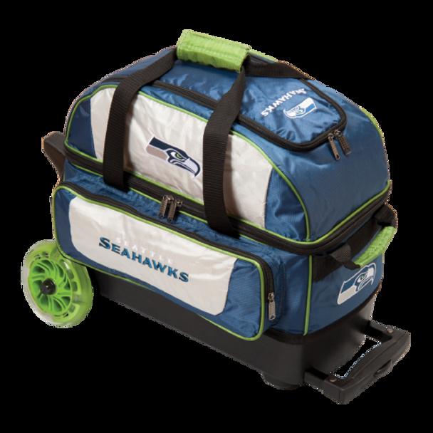 KR Strikeforce NFL Seattle Seahawks 2 Ball Roller Bowling Bag