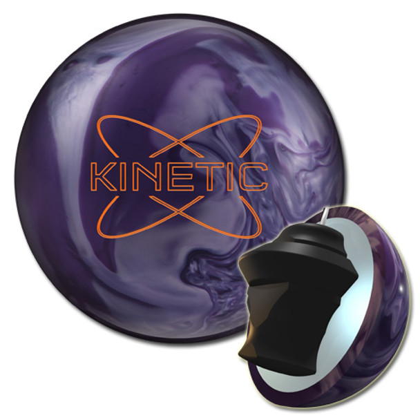 Track Kinetic Amethyst Bowling Ball and core