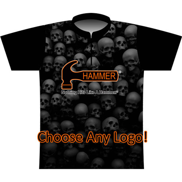 BBR Small Skulls Dye Sublimated Jersey