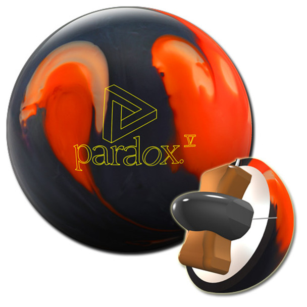 Track Paradox V Black Bowling Ball and core