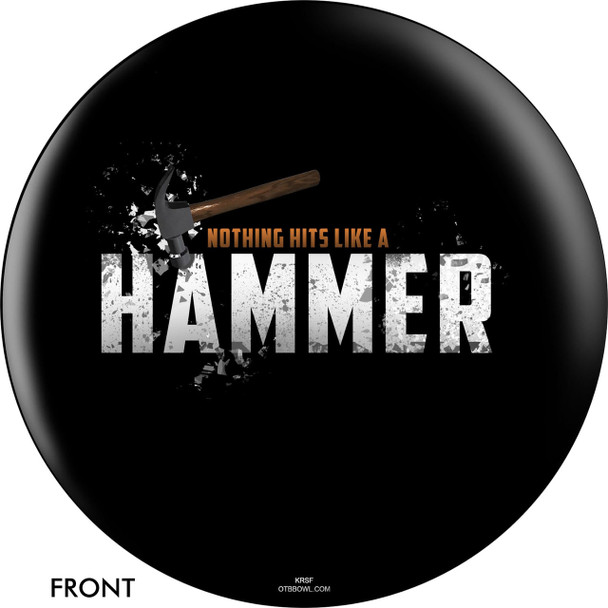 Hammer Tagline Bowling Ball front