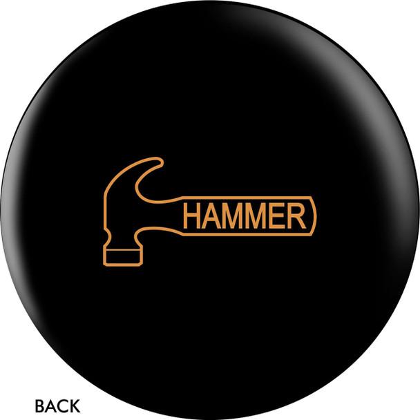 Hammer Tagline Bowling Ball back