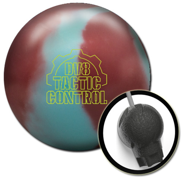 DV8 Tactic Control Bowling Ball and core