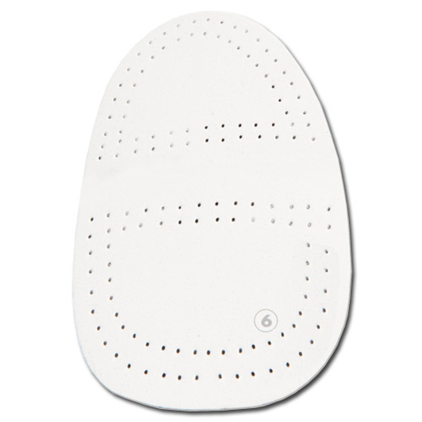 KR Strikeforce Universal Replacement Sole - Perforated White Microfiber (S6)