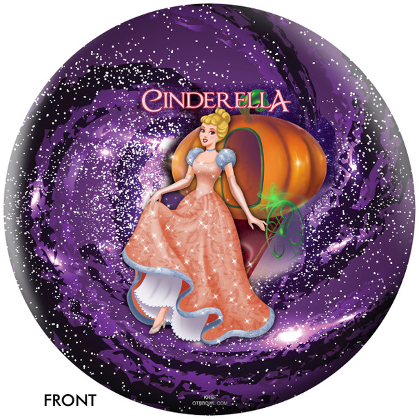 OTBB Disney's Cinderella Bowling Ball front