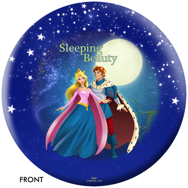 OTBB Disney's Sleeping Beauty Bowling Ball front