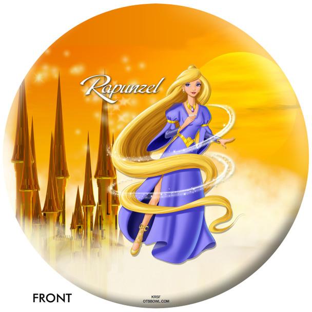 OTBB Disney's Rapunzel Bowling Ball front