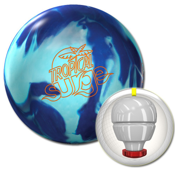 Storm Tropical Surge Bowling Ball Teal/Blue and core
