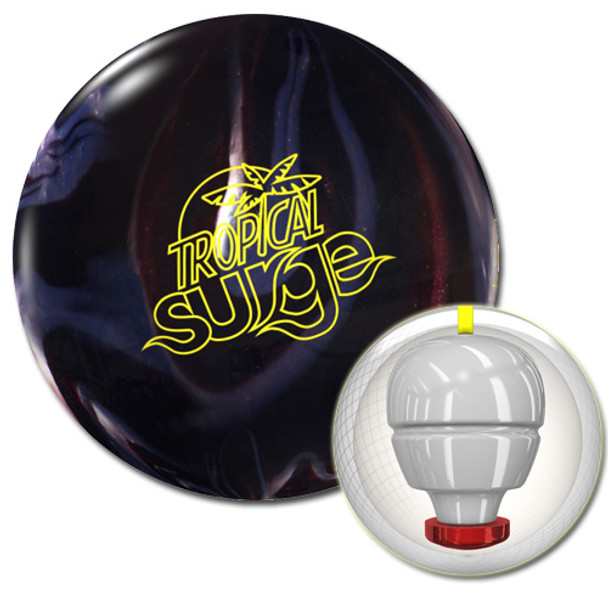 Storm Tropical Surge Bowling Ball Carbon/Chrome and core