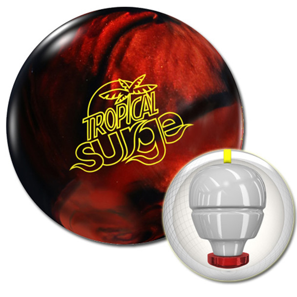 Storm Tropical Surge Bowling Ball Black/Copper and core
