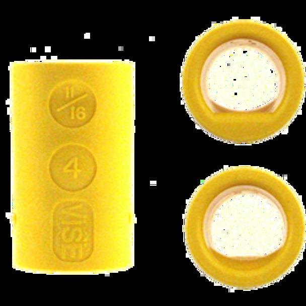 Vise Power Lift & Semi Bowling Ball Insert - Yellow