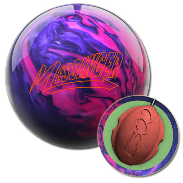 Columbia 300 Messenger Pink/Purple Bowling Ball and core