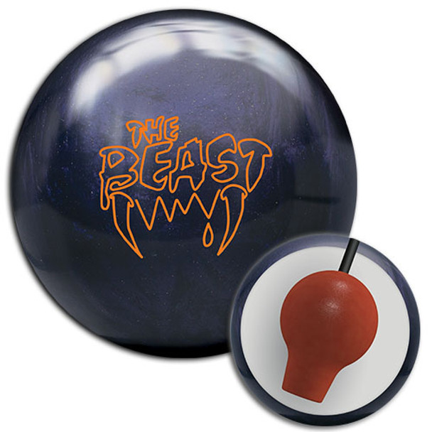 Columbia 300 Beast Purple Sparkle Bowling Ball and Core