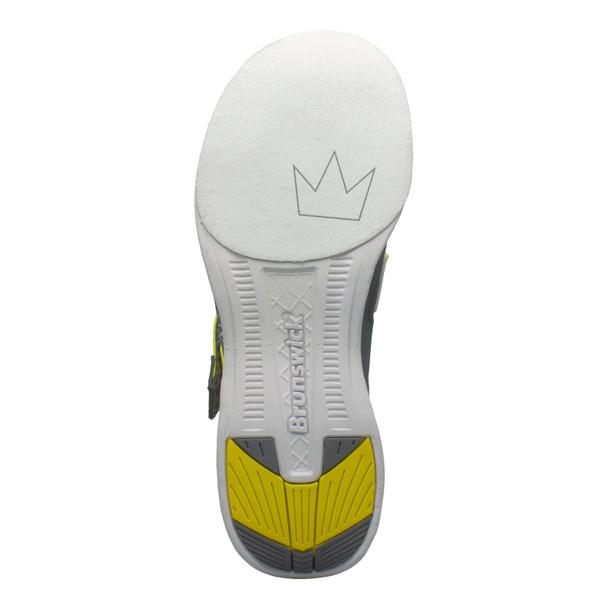 Brunswick Slingshot Mens Bowling Shoes Royal/White