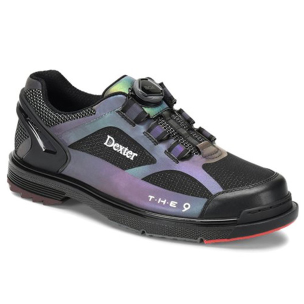 Dexter THE 9 HT Boa Bowling Shoes - Color Shift Hot Melt - Wide Width