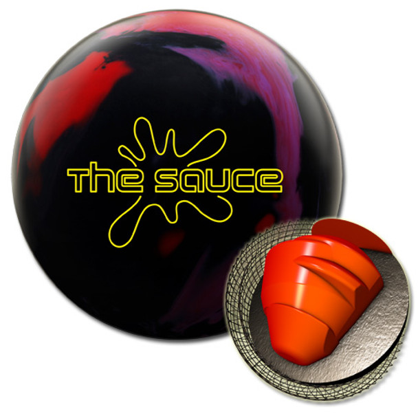 Hammer The Sauce Bowling Ball and Core