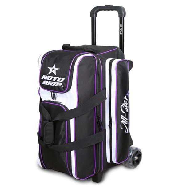Roto Grip 3 Ball All-Star Edition Roller - Black/White/Purple