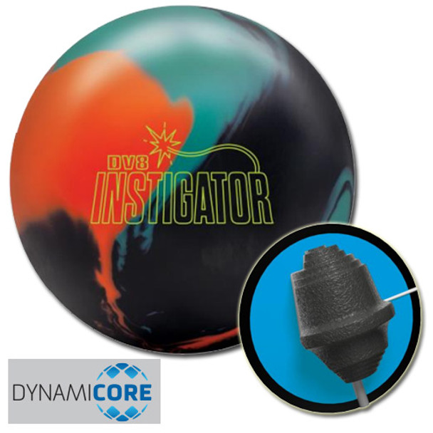DV8 Instigator Bowling Ball and Core