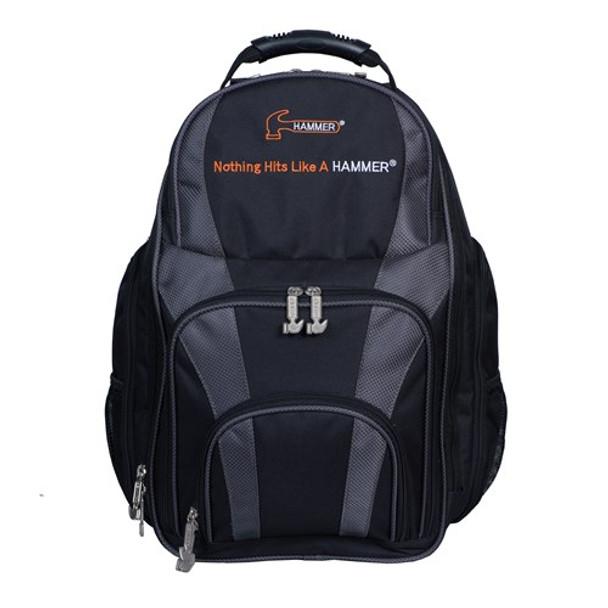 Hammer Tournament Backpack - Black/Carbon