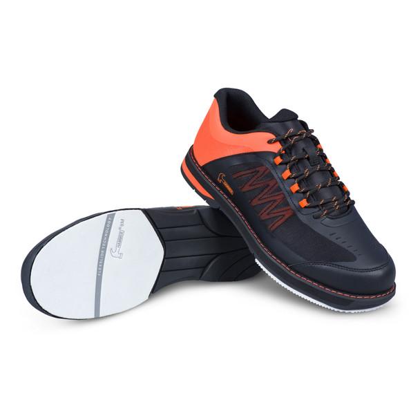 Hammer Rogue Mens Bowling Shoes Black/Orange Right Handed setup