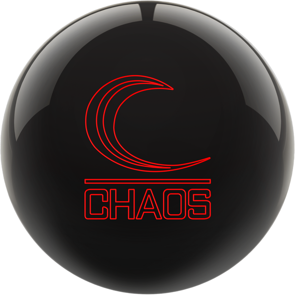 Columbia 300 Chaos Bowling Ball - Jet Black