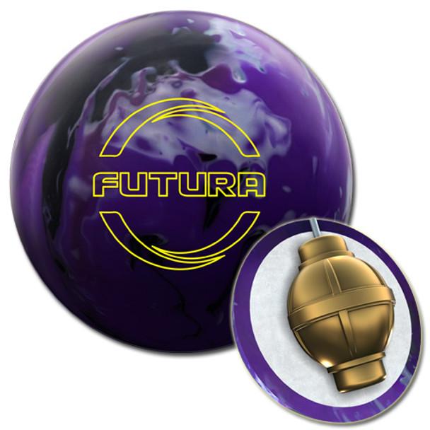 Ebonite Futura Bowling Ball and core