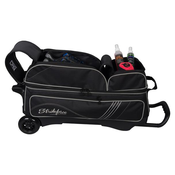 KR Strikeforce LR3 Sport Triple Roller Black shoe storage