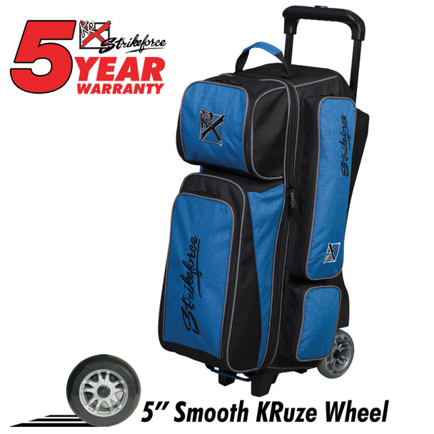 KR Strikeforce Krush 3 Ball Roller Blue/Black