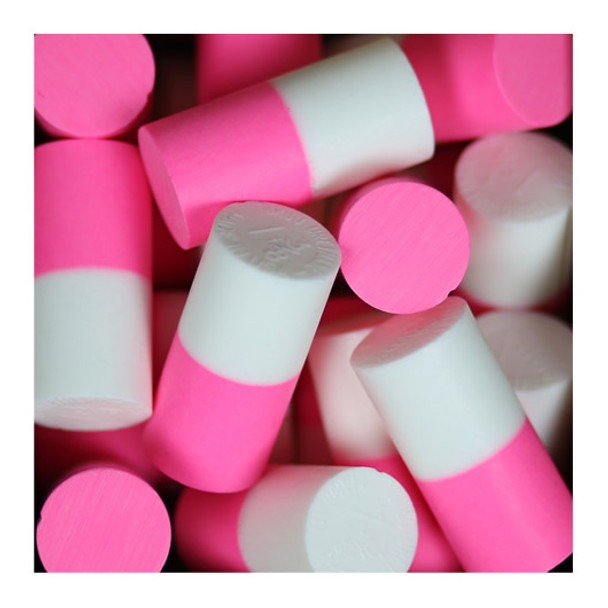 Turbo 2-N-1 Duo Color Urethane Thumb Solid - Pink/White