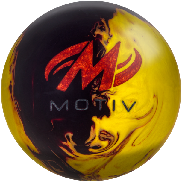 Motiv Forge Fire Bowling Ball Logo